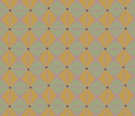 Shell Basketry fabric by david_kent_collections on Spoonflower - custom fabric