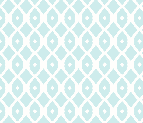 Chain Link 22 (Summer Sky) fabric by pattyryboltdesigns on Spoonflower - custom fabric
