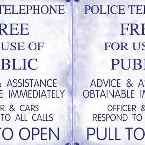 Police Phone Box_sign