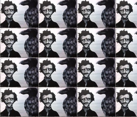 Nevermore fabric by ancer on Spoonflower - custom fabric
