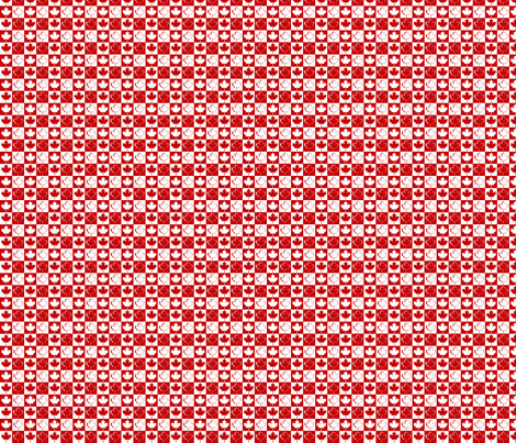 CanadianCheck fabric by morrigoon on Spoonflower - custom fabric