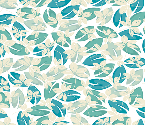 Leaves_Express fabric by venia on Spoonflower - custom fabric