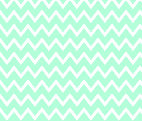 Animal Trails Blue Chevron fabric by designedtoat on Spoonflower - custom fabric