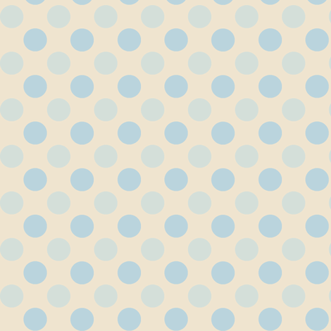 Dusk Polka fabric by wednesdaysgirl on Spoonflower - custom fabric
