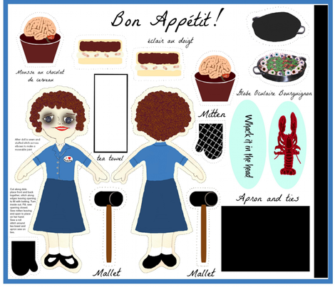 Bon_Appetit fabric by paragonstudios on Spoonflower - custom fabric