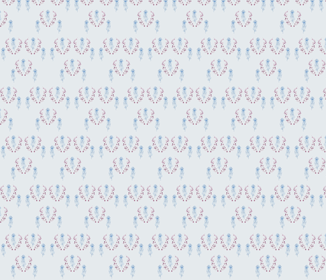 Jellyfish by youdesignme fabric by youdesignme on Spoonflower - custom fabric