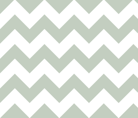 chevron lt gray fabric by christiem on Spoonflower - custom fabric