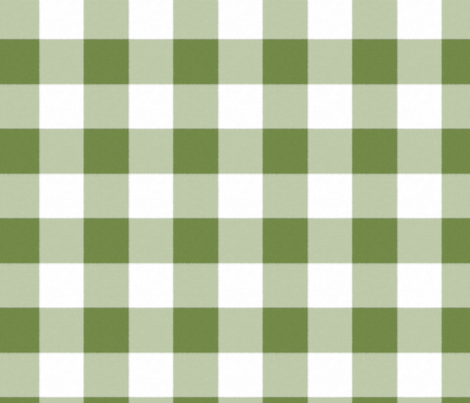 Buffalo Check in leaf fabric by domesticate on Spoonflower - custom fabric