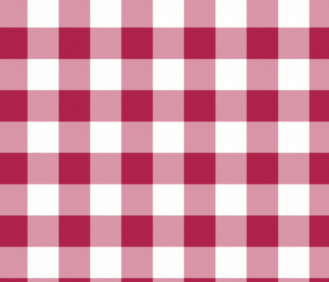 Buffalo  Check in burgundy fabric by domesticate on Spoonflower - custom fabric