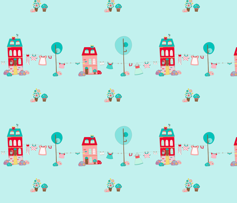Cute_home fabric by cyntia_abrigo on Spoonflower - custom fabric