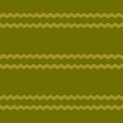 OLIVE ZIG-ZAG STRIPES