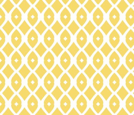 Chain Link 22 (lemon zest) fabric by pattyryboltdesigns on Spoonflower - custom fabric
