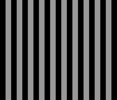 Stripe - black and gray fabric by jenithea on Spoonflower - custom fabric