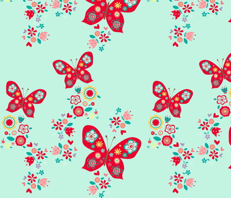 Cute_butterfly fabric by cyntia_abrigo on Spoonflower - custom fabric
