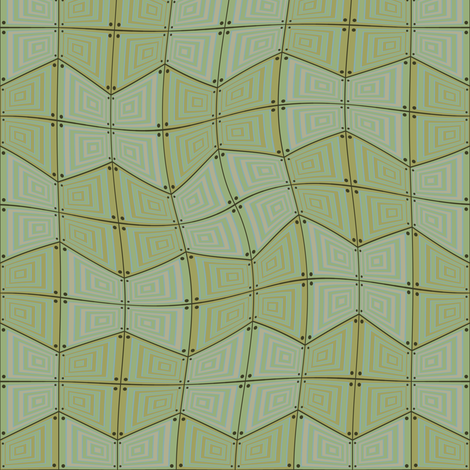 Pontius Green fabric by david_kent_collections on Spoonflower - custom fabric