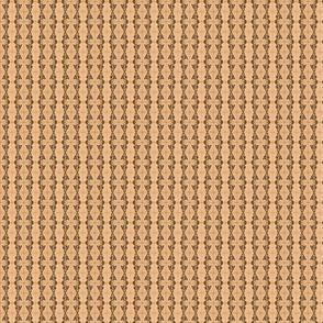 zigzag stripe - sepia