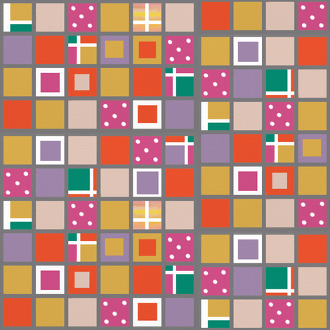 Color grid 32 fabric by su_g on Spoonflower - custom fabric