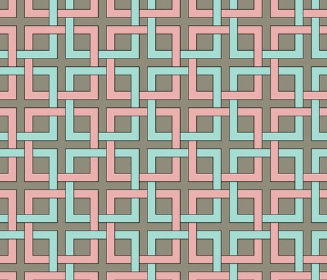 Rrinterlockingsquares_coral_and_turquoise_shop_preview