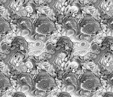 Marble black & white fabric by ravynka on Spoonflower - custom fabric