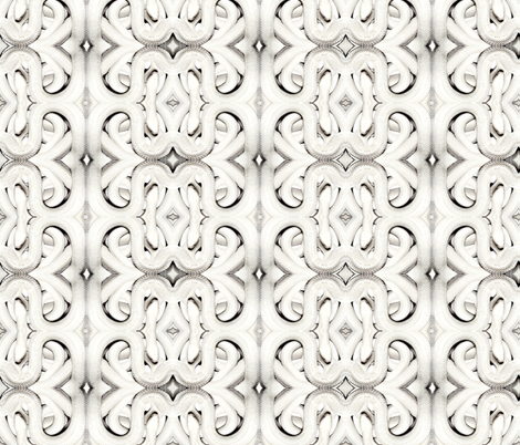 White Snakes fabric by whimzwhirled on Spoonflower - custom fabric