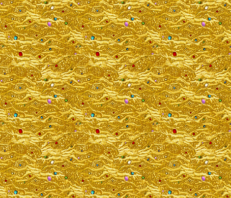 encrusted fabric by glimmericks on Spoonflower - custom fabric