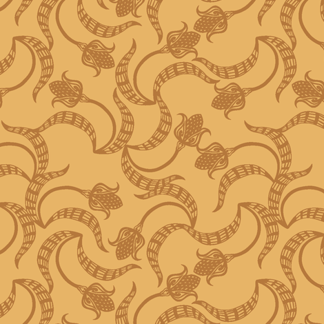 tri_tulip_leche fabric by glimmericks on Spoonflower - custom fabric