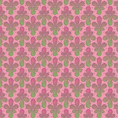 melon drop fabric by glimmericks on Spoonflower - custom fabric