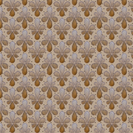 tigerdrop fabric by glimmericks on Spoonflower - custom fabric