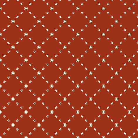 Dot_the__A_s fabric by fireflower on Spoonflower - custom fabric