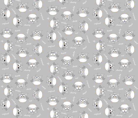 Those Eyes fabric by ilikemeat on Spoonflower - custom fabric
