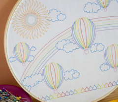 Awesome Rainbows & Unicorns, Balloons & Fluffy Clouds
