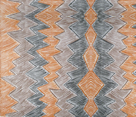 Peaks fabric by absintheandrope on Spoonflower - custom fabric
