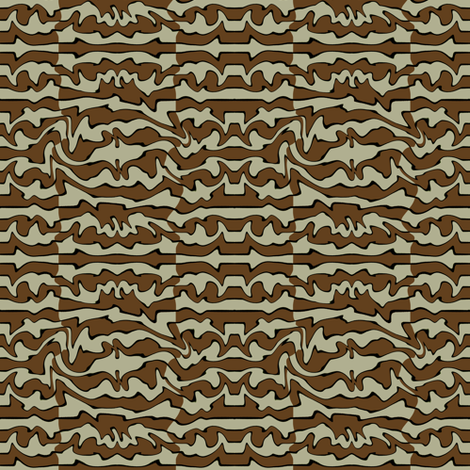 Primitivo (Brown) fabric by david_kent_collections on Spoonflower - custom fabric
