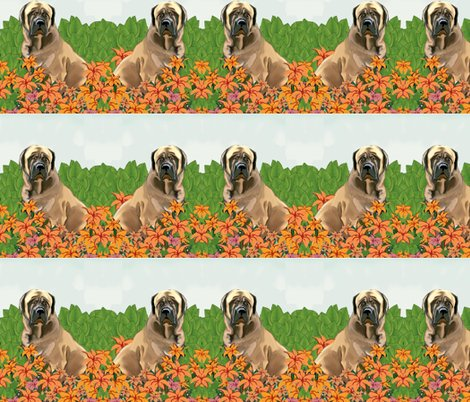 Rrrmastiffs_in_the_garden_fabric__shop_preview