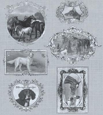 dogshorse_framed