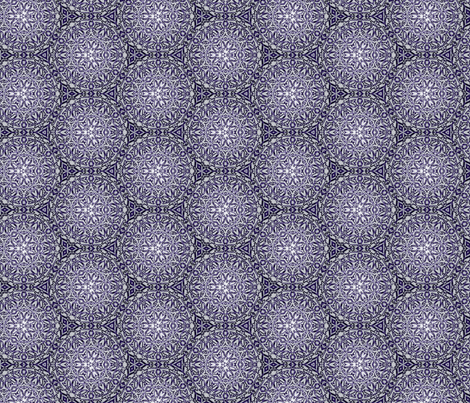 Blue Lace Crochet fabric by wren_leyland on Spoonflower - custom fabric