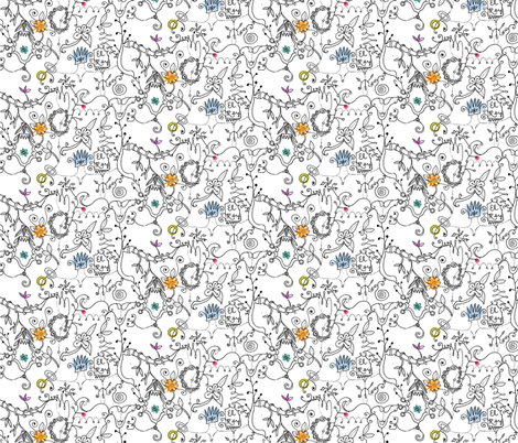 El Rey fabric by boris_thumbkin on Spoonflower - custom fabric
