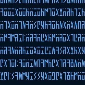 Stargate  Ancient Language Text