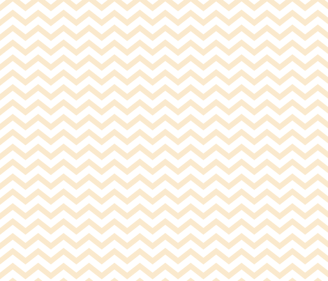 chevron ivory fabric by misstiina on Spoonflower - custom fabric