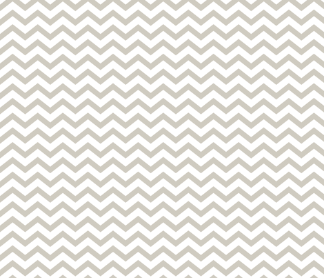 chevron beige and white fabric by misstiina on Spoonflower - custom fabric