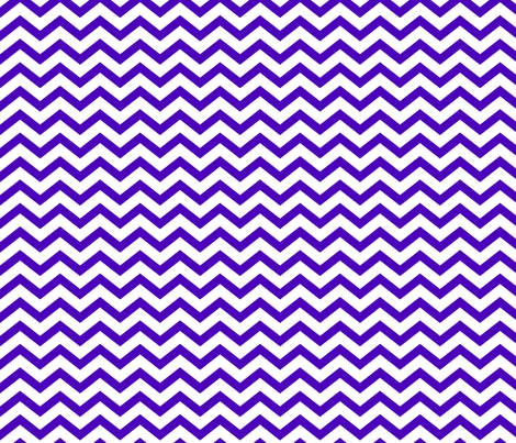 chevron purple and white fabric by misstiina on Spoonflower - custom fabric