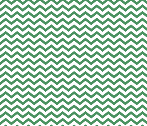 chevron green and white fabric by misstiina on Spoonflower - custom fabric