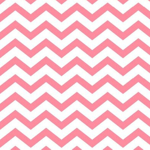 chevron pretty pink and white