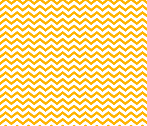 chevron pumpkin orange and white fabric by misstiina on Spoonflower - custom fabric