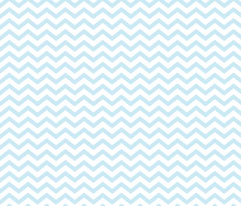 chevron ice blue fabric by misstiina on Spoonflower - custom fabric