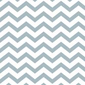 chevron slate blue and white
