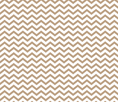 chevron tan fabric by misstiina on Spoonflower - custom fabric