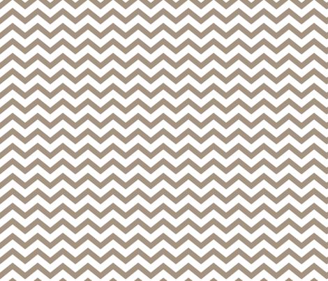 chevron tan and white fabric by misstiina on Spoonflower - custom fabric