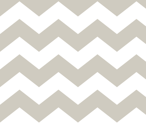 chevron lg beige and white fabric by misstiina on Spoonflower - custom fabric