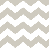 chevron lg beige and white